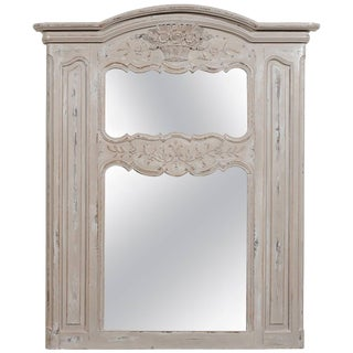 Late 19th Century, French Provencal Trumeau Mirror