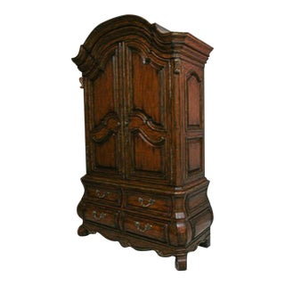 Marge Carson Bordeaux Oxford Armoire For Sale