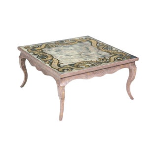 Jansen Eglomise Coffee Table