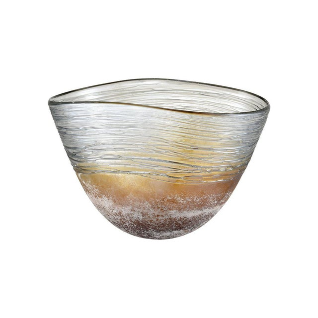 Kenneth Ludwig Chicago Jenni Blown Glass Bowl For Sale In Chicago - Image 6 of 6