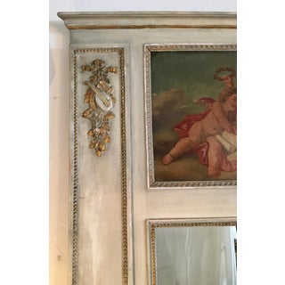 French Cherub Trumeau Mirror Preview