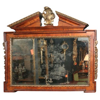 George II Overmantel Mirror, Circa 1750 For Sale