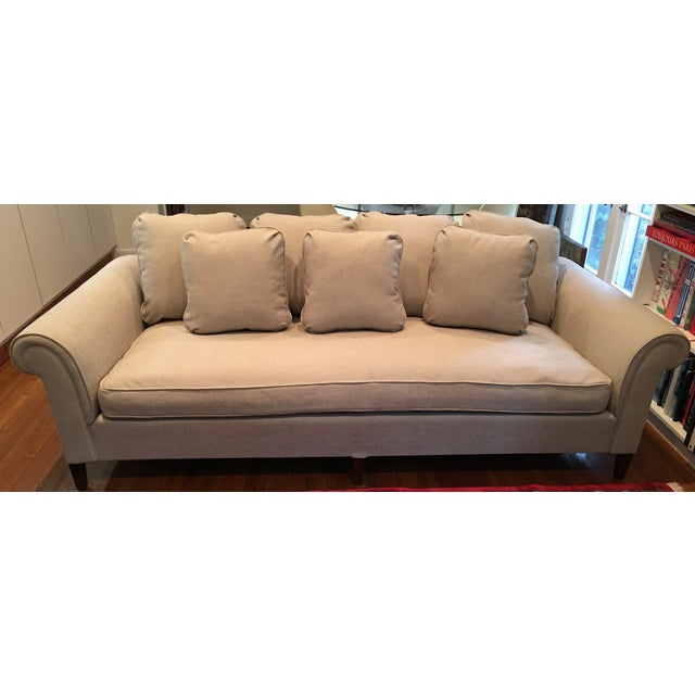 1970s Linen Sofa - Image 2 of 6