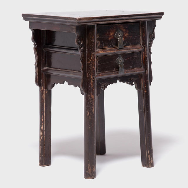 Mid 19th Century 19th Century Chinese Shanxi Tall Petite Cabinets - a Pair For Sale - Image 5 of 13