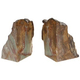 Image of Petrified Wood Bookends
