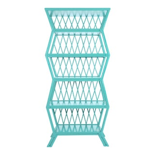Hollywood Etagere - Turquoise For Sale