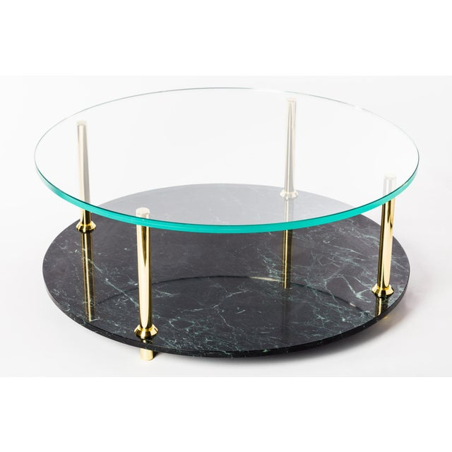 Troy Smith Designs Mgb Round Coffee Table by Artist Troy Smith - Contemporary Design - Artist Proof - Custom Furniture For Sale - Image 4 of 7