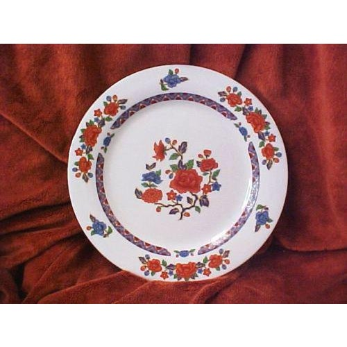 Crown Ming fine china dinner plates (3 piece setting) The settings include... 1 Dinner Plate 10.5 inches 1 Salad/Bread...