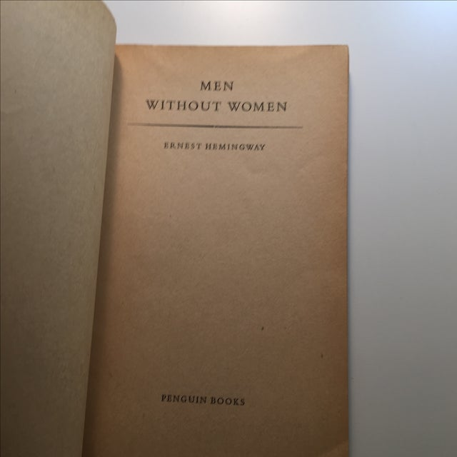 Ernest Hemingway Men Without Women Book For Sale - Image 4 of 7