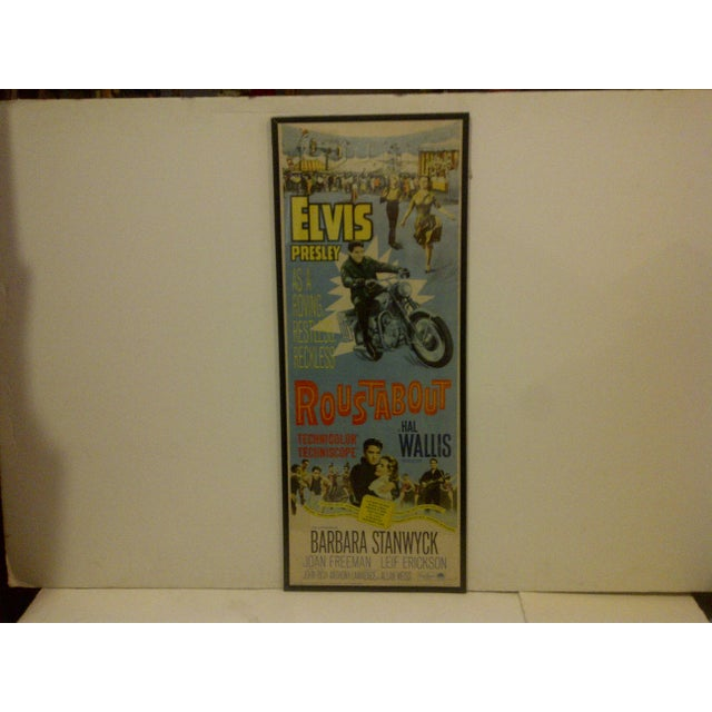 "A Vintage Movie Poster -- ""Roustabout"" -- Starring And Signed By -- Elvis Presley -- 64/305 -- Copyright 1964 -- Hal B...."