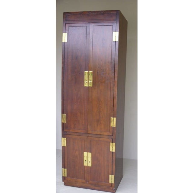 Ethan Allen Walnut Tall Cabinet - Image 2 of 4