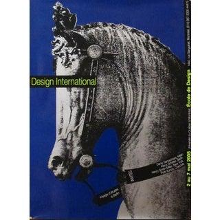 "Original Halasa Poster Design - ""Silver Horse"" For Sale"