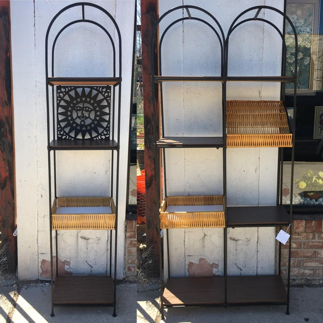 Arthur Umanoff 'Mayan Sun' Etagere Wall Unit For Sale In Chicago - Image 6 of 12