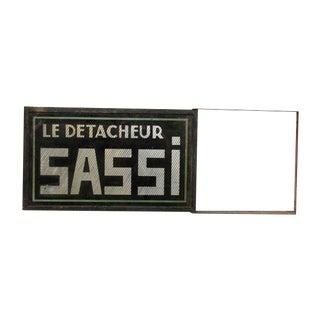 French Le Detacheur Sassi Sign For Sale