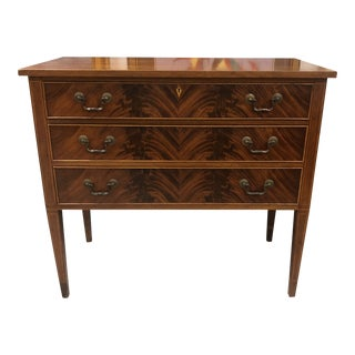 Antique Neoclassical 3-Drawer Console Chest For Sale