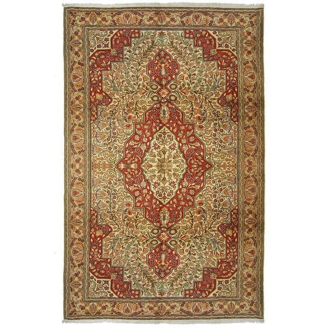 "Vintage Kayseri Carpet - 6'7"" x 10'1"" - Image 1 of 6"