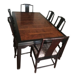 Antique Chinese Dining Set For Sale