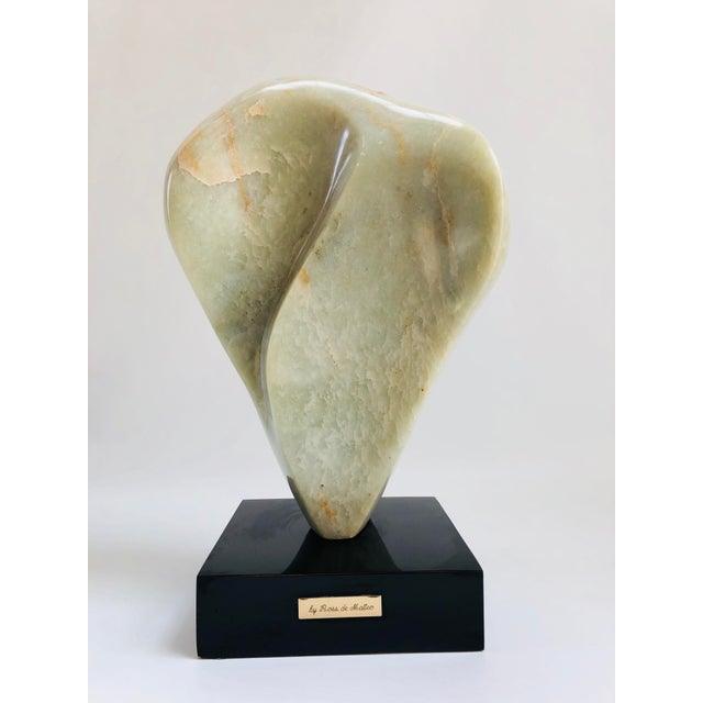Noguchi Inspired Mid-Century Modern Abstract Biomorphic Marble Sculpture For Sale - Image 11 of 12