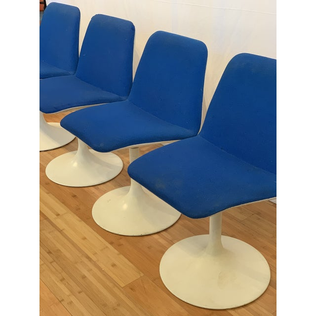 1960s Vintage Borje Johanson Swivel Chairs- Set of 4 For Sale - Image 9 of 10