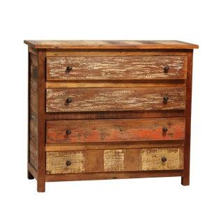 Reclaimed Teak Wood Dresser For Sale