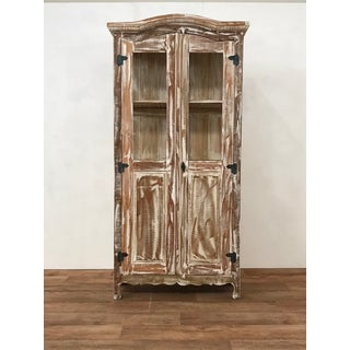 Reclaimed Wood Buffet Hutch Preview