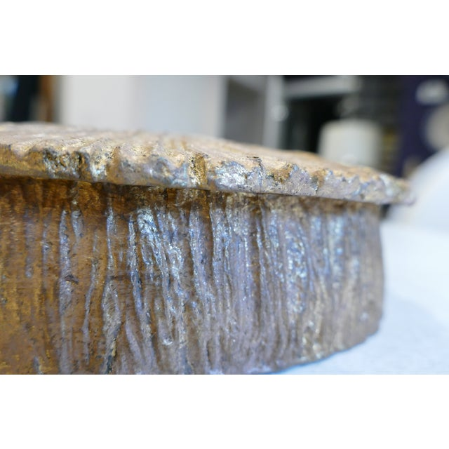Feather Coral Round Box For Sale - Image 4 of 8