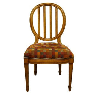 Late 20th Century Baker Furniture Accent Side Chair For Sale