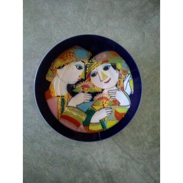 1970's Bjorn Wiinblad for Rosenthal 1001 Nights Plate For Sale In New York - Image 6 of 6