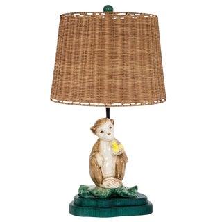 Frederick Cooper Porcelain Monkey Lamp