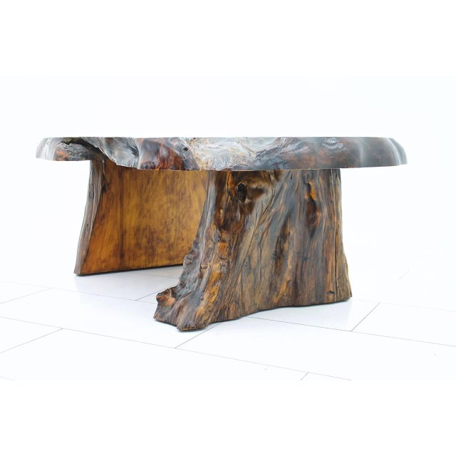 Solid Root Wood Coffee Table, 1960s For Sale - Image 4 of 10