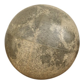 1969 Rand McNally Moon Globe For Sale