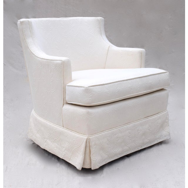 Swivel Rocking Club Chairs - A Pair - Image 11 of 11
