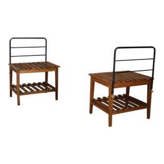 Bench or Luggage Stand by Gio Ponti From 1950 For Sale