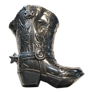 Arthur Court Cowboy Boot Pitcher For Sale