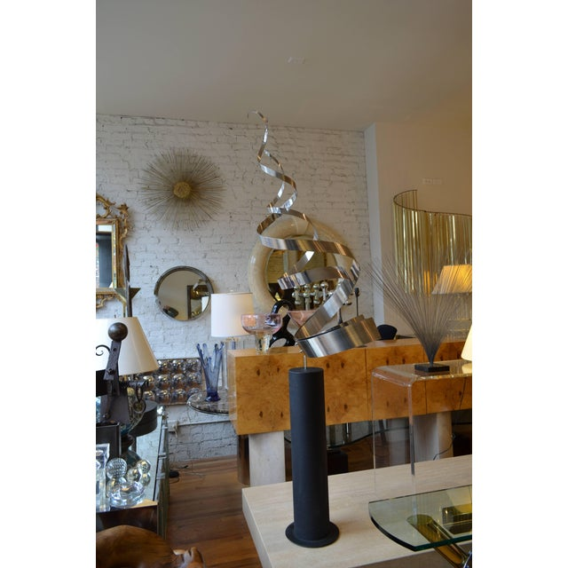 Curtis Jere Style Starburst Wall Sculpture by Bruce & William Friedle For Sale In Chicago - Image 6 of 8