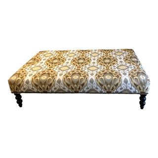 Modern Lee Industries Handmade Ottoman For Sale