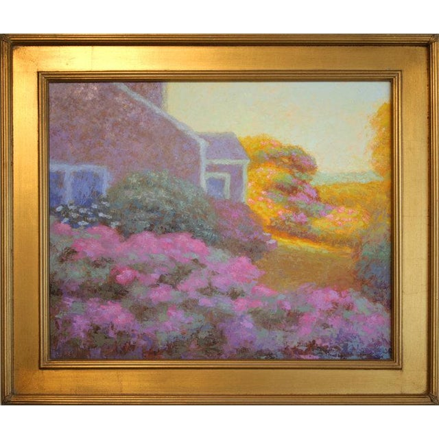 Contemporary Rob Longley, Rosa Rugosa, Late Afternoon Painting, 2017 For Sale - Image 3 of 7