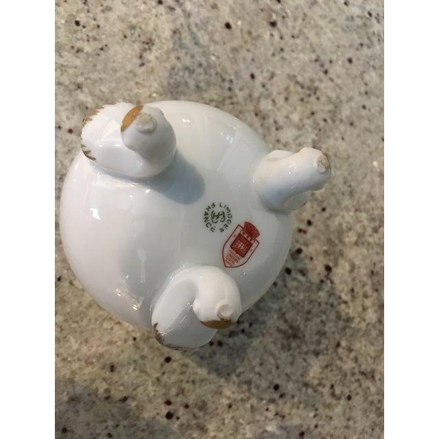 Limoges Porcelain Egg Vase For Sale In Boston - Image 6 of 8