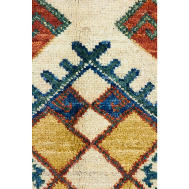 """Islamic Ziegler Hand Knotted Area Rug - 4'1"""" X 9'5"""" For Sale - Image 3 of 3"""