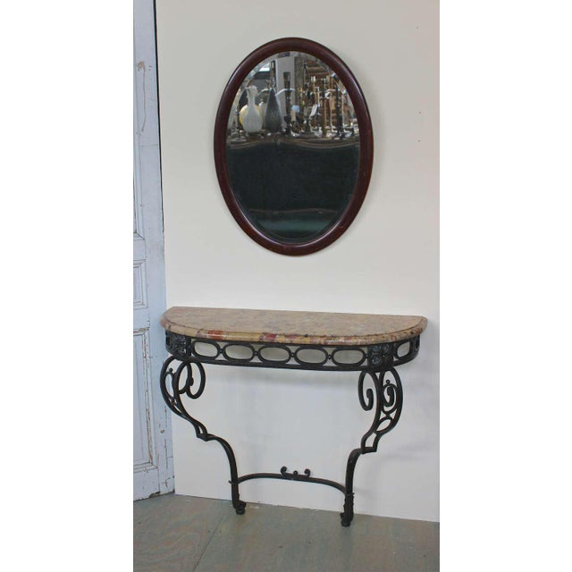 French Iron Console - Image 10 of 11