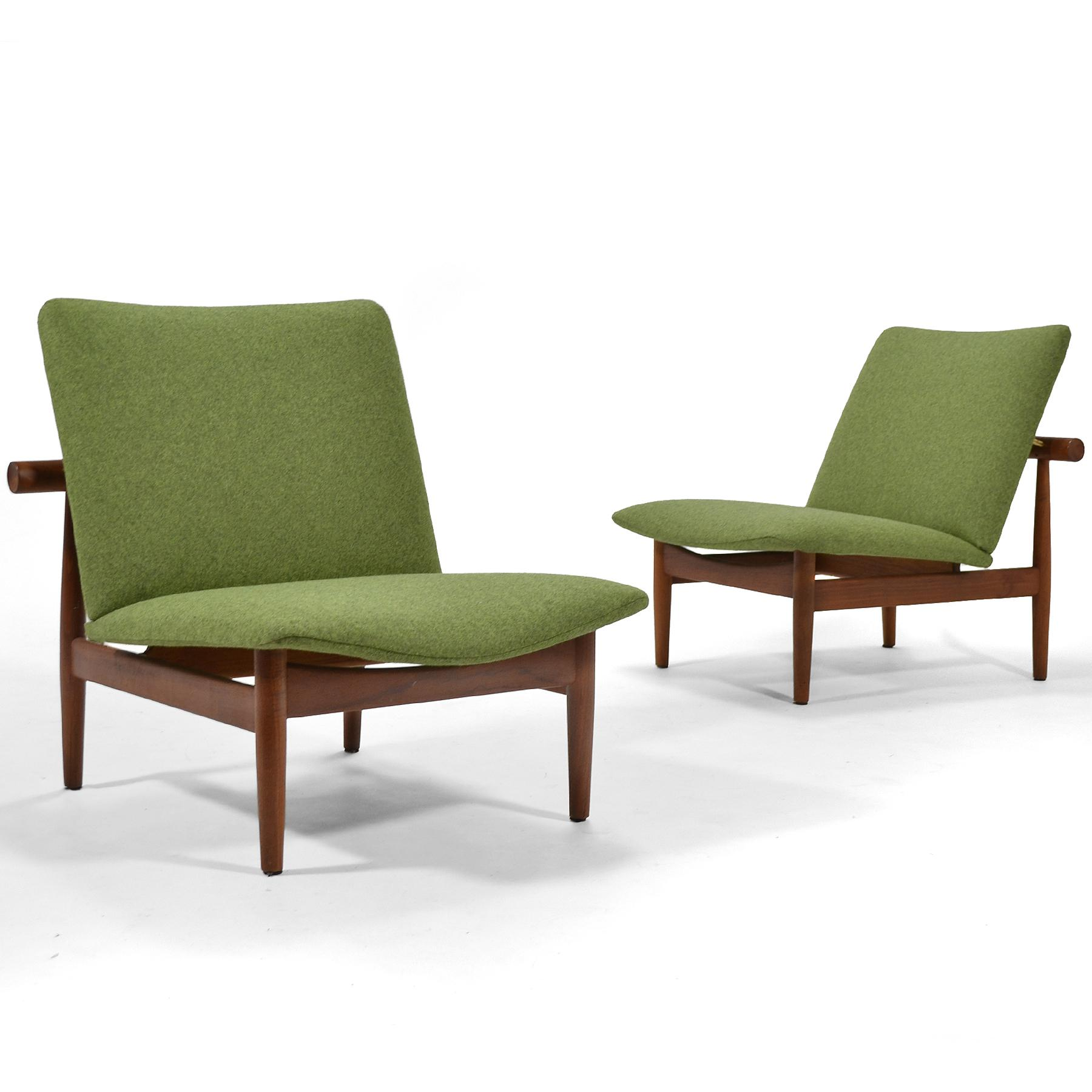 Pair Of Finn Juhl Japan Chairs By France U0026 Søn   Image 11 Of 11