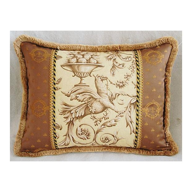 Designer Braemore Mythical Griffin Pillows - Pair - Image 3 of 8