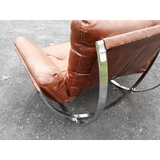 1960s Vintage Chrome Hoops Sling Chair Preview