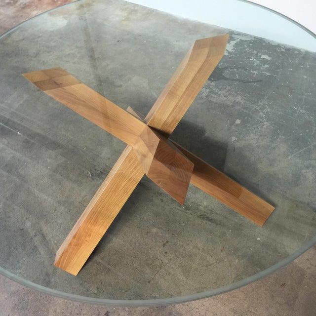 Cassina & Mario Bellini La Rotonda Glass Dining Table - Image 3 of 5