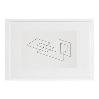 Josef Albers - Portfolio 1, Folder 13, Image 1 Framed Silkscreen For Sale