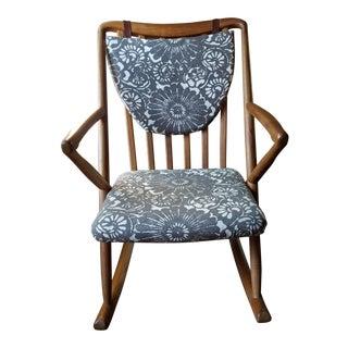 Mid-Century Modern Benny Linden Rocking Chair
