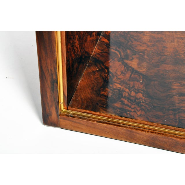 Hungarian Art Deco Console With Shelves For Sale - Image 12 of 13