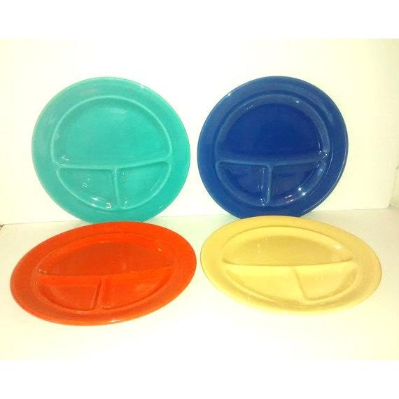 Metlox California Pottery Grill Plates - Set of 4 - Image 2 of 5