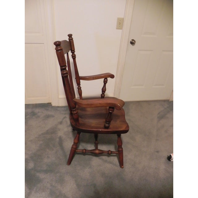 Ethan Allen Windsor Arm Chair - Image 4 of 4