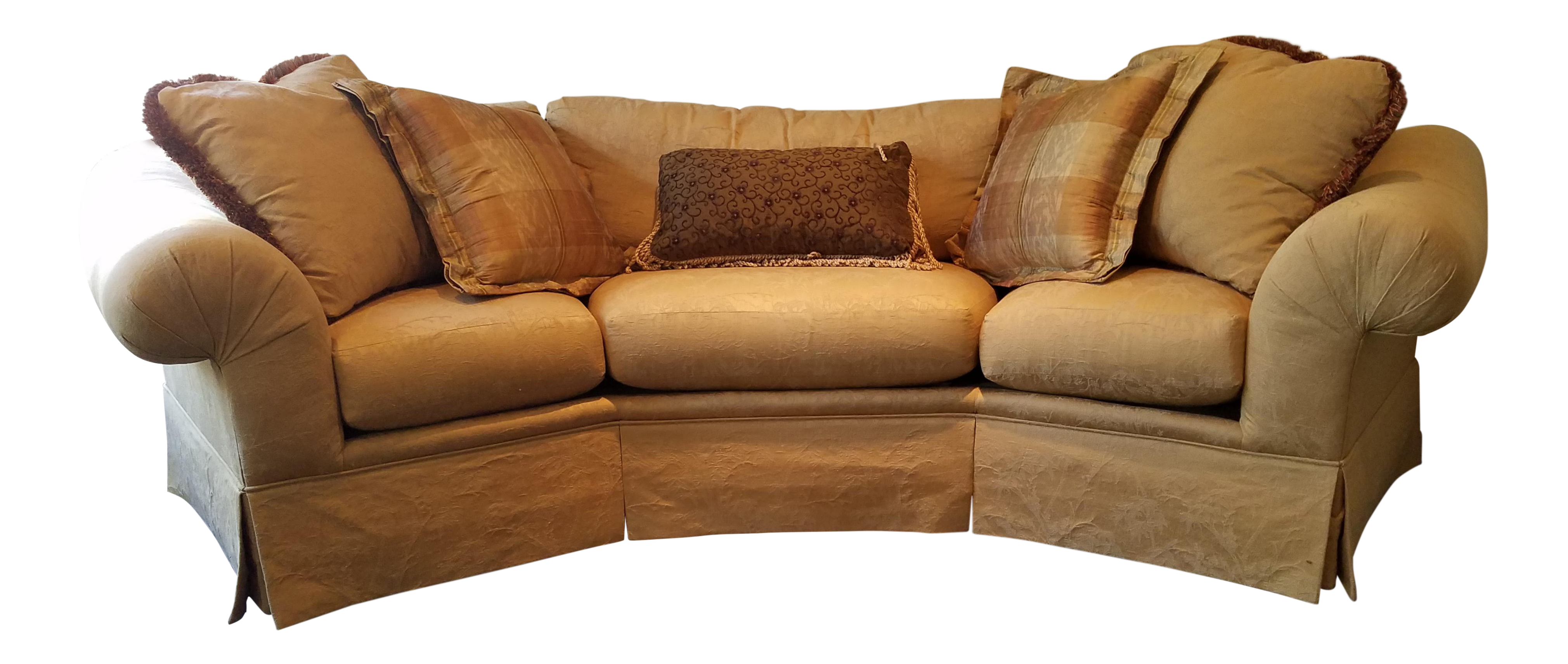 Thomasville Portofino Wedge Sofa